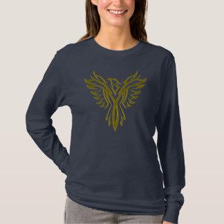 Phoenix, das in GoldT - Shirt steigt