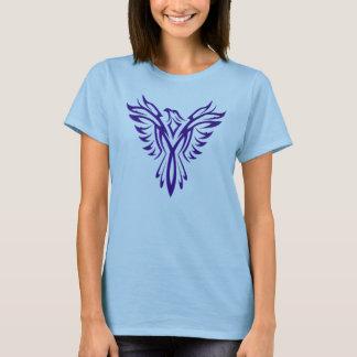 Phoenix, das in Lila steigt T-Shirt
