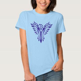Phoenix, das in Lila steigt Tshirts