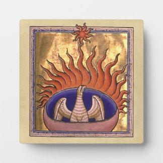 Phoenix, das von der Asche steigt Fotoplatte