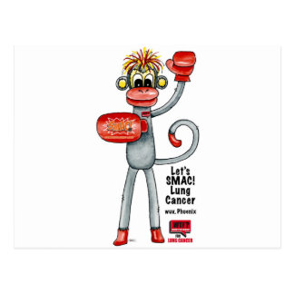 Phoenix der Lungenkrebs SMAC! Affe - Verpacken! Postkarte