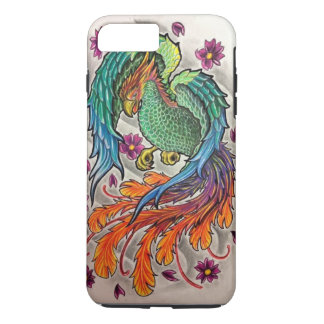 Phoenix-Fall iPhone 8 Plus/7 Plus Hülle