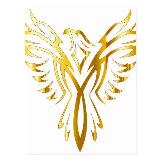 Phoenix-Gold Postkarte