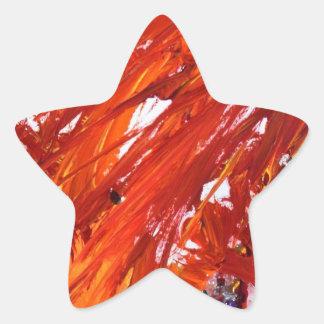 Phoenix-Steigen Stern-Aufkleber