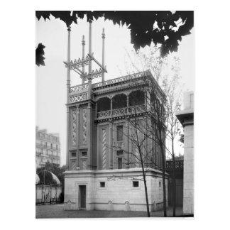 Phönizisches Haus, universelle Ausstellung, Paris Postkarte