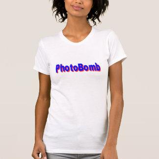 PhotoBomb das T-Shirt der städtischer Jargon-Frau,