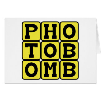 Photobomb, Internet Meme Karte