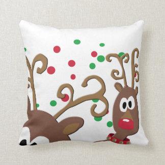 Photobomb Ren-dekoratives Weihnachtskissen Kissen