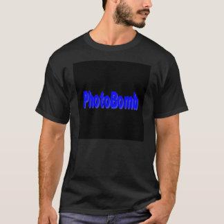 PhotoBomb städtischer Jargon-Schwarz-T-Shirt, T-Shirt