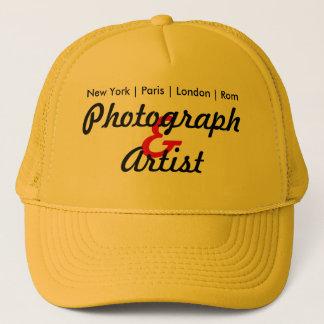 Photograph and Artist Truckerkappe