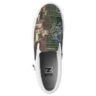 Phrenologie, 1 - Zipz Beleg auf Schuhen, Slip-On Sneaker