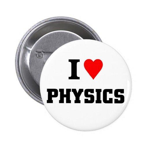 Physik der liebe i buttons