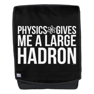 Physik gibt mir einen großen Hadron Rucksack