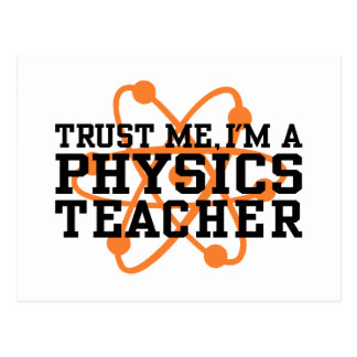 Physik-Lehrer Postkarten