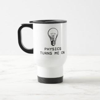 Physik schaltet mich ein edelstahl thermotasse