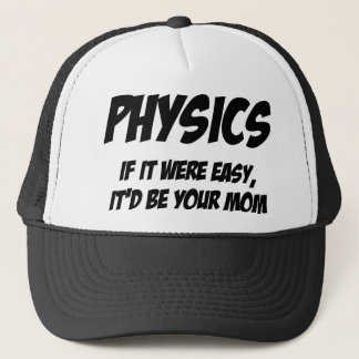 Physik Truckerkappe