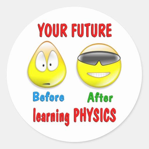 Physik-Zukunft Sticker