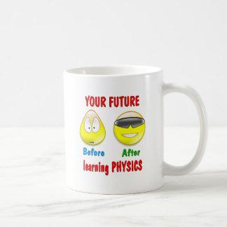 Physik-Zukunft Kaffeetasse