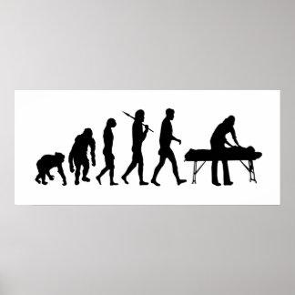 Physiotherapie-Sportmedizin körperliche Therapie Plakatdrucke