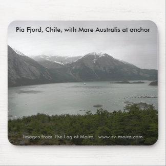 Pia-Fjord, Chile, mit der Stute Australis am Anker Mousepad