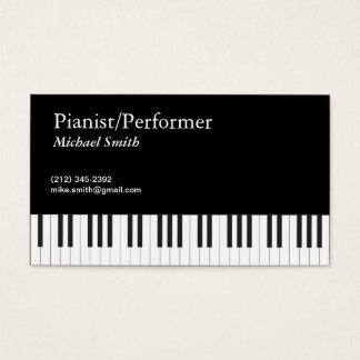 Pianist Visitenkarte