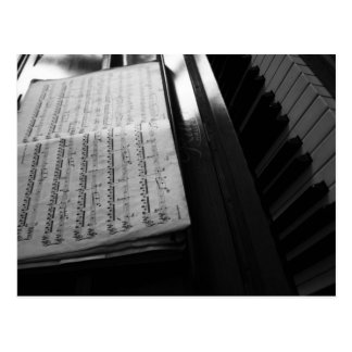 Piano Postkarten