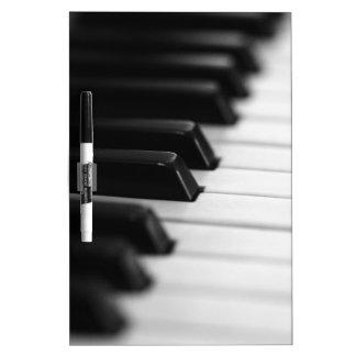 piano trockenlöschtafel