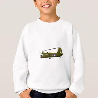 Piasecki UH-25 Armee-Maultier Sweatshirt