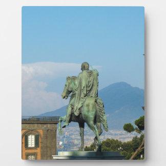 Piazza Del Plebiscito, Neapel Fotoplatte