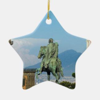 Piazza Del Plebiscito, Neapel Keramik Stern-Ornament