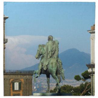 Piazza Del Plebiscito, Neapel Serviette