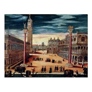 Piazzetta di San Marco, Venedig Postkarte