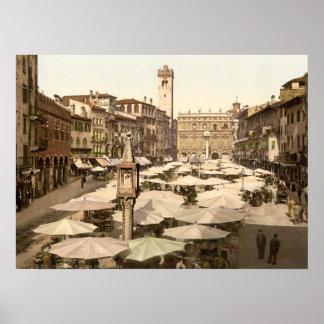 Piazzi delle Erbe Verona Italien