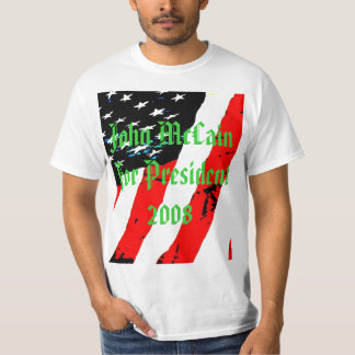 pic033, John McCain für Präsidenten 2008 T-Shirt