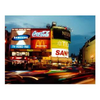 Picadilly Zirkus - London Postkarte