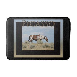 Picasso, Stallion der Sand-Waschbecken-Badmatte Badematten