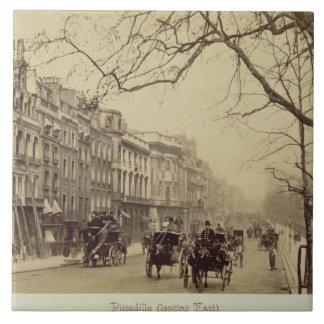 Piccadilly, das Osten, (Sepia-, gegenüberstellt Fliese