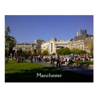 Piccadilly Gärten, Manchester Postkarte