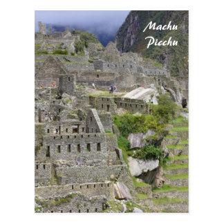 picchu Peru Postkarte