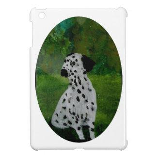 Pickelige dalmatinische Hundekunst iPad Mini Hülle