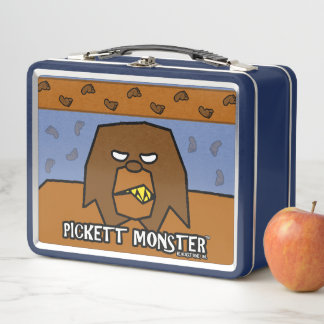 PICKETT MONSTER - KNURREN METALL BROTDOSE