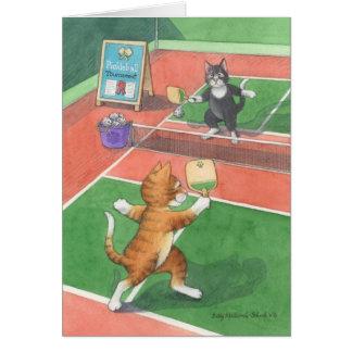Pickleball Geburtstags-Knospe u. Tony Notecard Karte