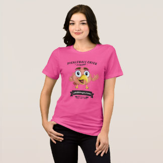 Pickleball Küken-Reihen-T - Shirt