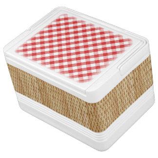 Picknick-Korb cooler Kühlbox