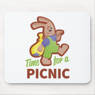 Picknick-Zeit Mousepad