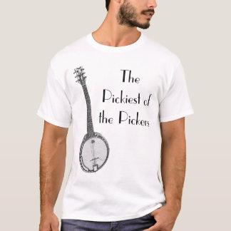 Picky Banjo-Spieler T-Shirt
