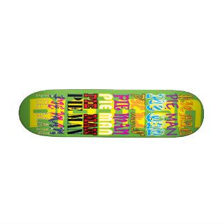 pIEMAN 20,6 Cm Skateboard Deck