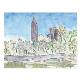 Piemont-Park, Atlanta Postkarte