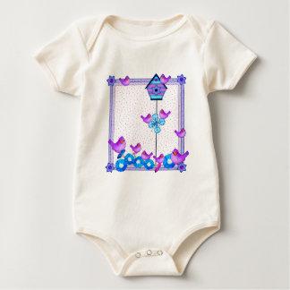 Piepmatz-Flecken-t Baby Strampler