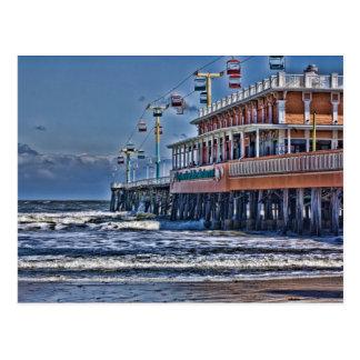 Pier Daytona Beach FL Postkarte